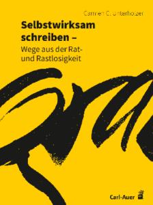 """Cover des Buches: """"Selbstwirksam schreiben"""""""